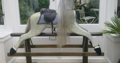 Sarah restored Rocking Horse